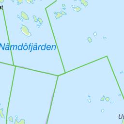 nämdöfjärden karta Naturkartan nämdöfjärden karta