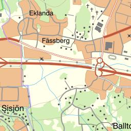 eklanda karta Naturkartan eklanda karta