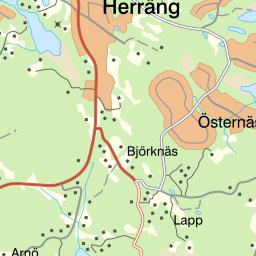 karta herräng Naturkartan karta herräng
