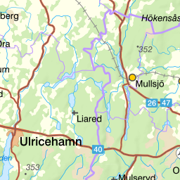 gränna galgen karta Naturkartan gränna galgen karta